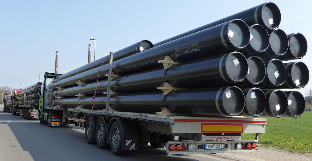 Mehr als 1.100 Kilometer Erdgasleitungen werden auf den Transport von Wasserstoff umgestellt