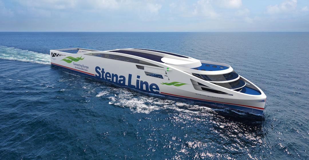 Stena Line plant den Einsatz von zwei fossilfrei angetriebenen Fähren