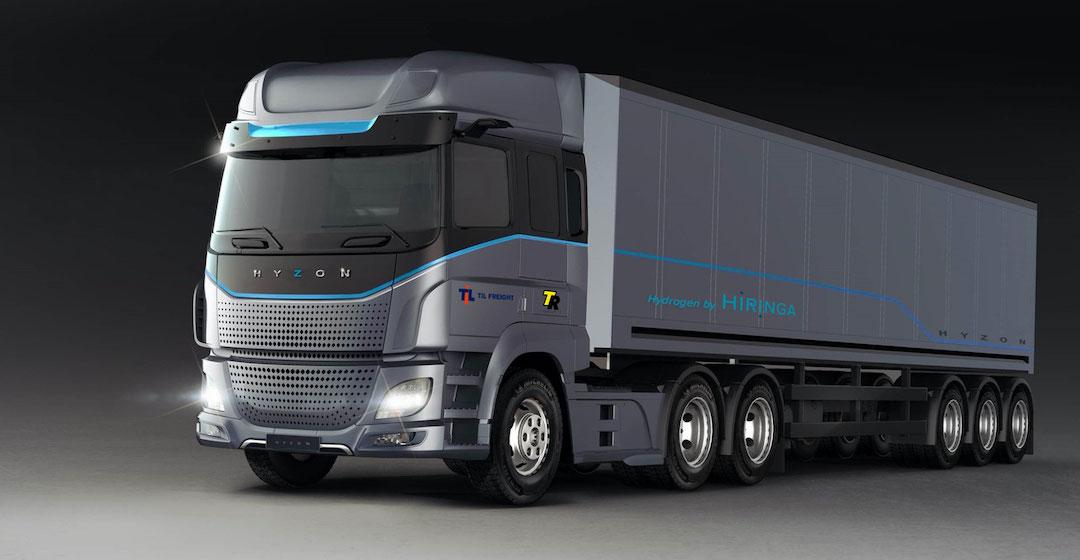 Hyzon Motors startet Leasing-Service für Wasserstoffnutzfahrzeuge in Europa