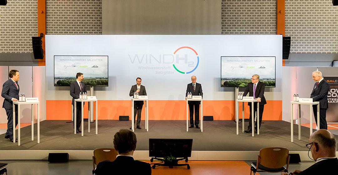 Salzgitter AG erprobt erste Anlage zur Produktion von Wasserstoff mittels Windkraft