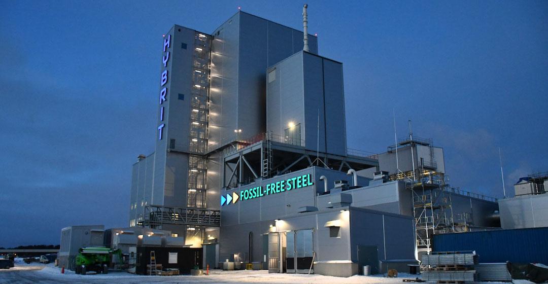 Hybrit will in Schweden von mit Wasserstoff reduzierten Eisenschwamm für die Stahlindustrie produzieren