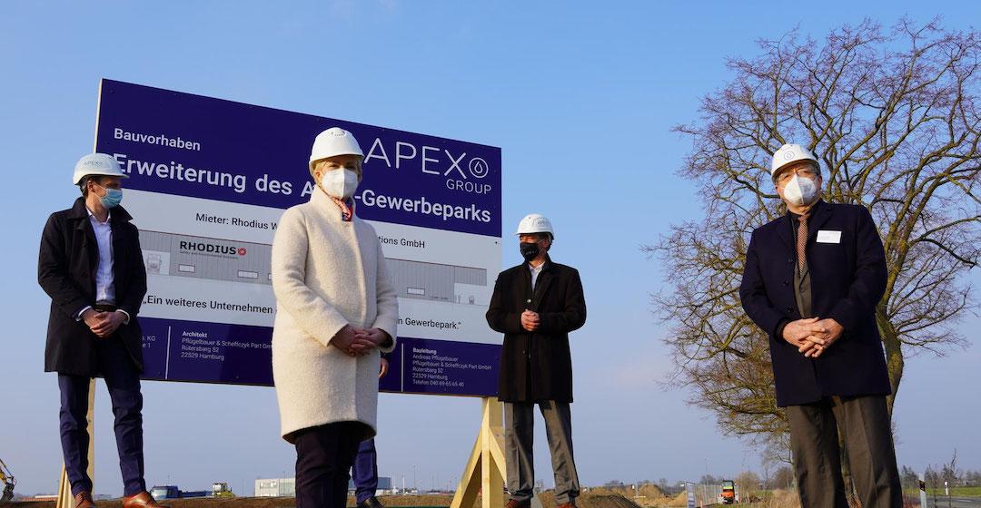 Wasserstoffkraftwerk in Rostock geht in den Testbetrieb