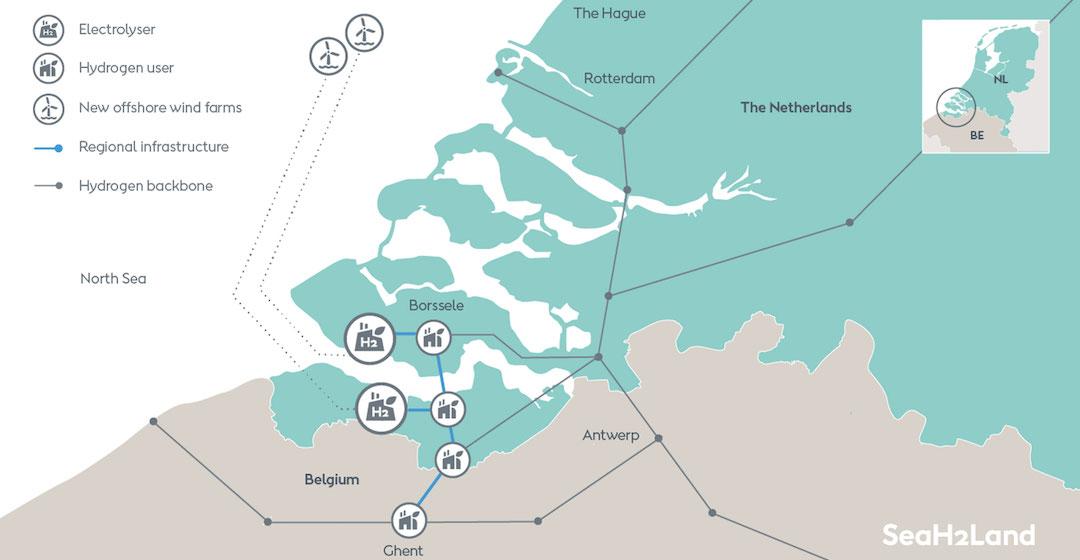 Ørsted plant Anlage zur Produktion von grünem Wasserstoff im Gigawatt-Maßstab in Belgien und den Niederlanden