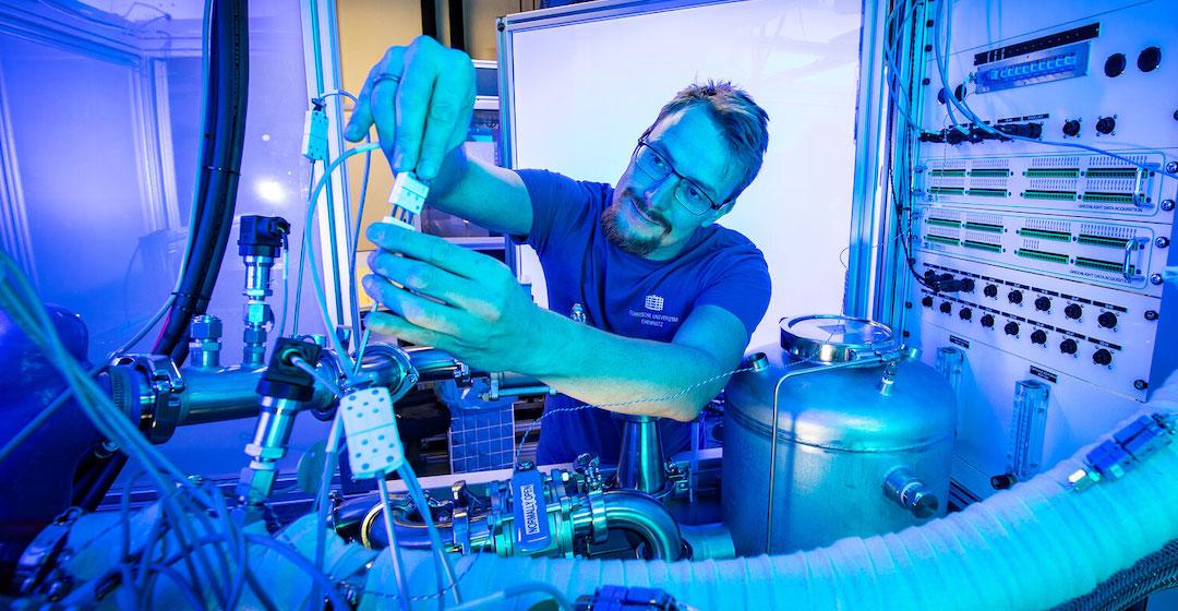 Studie: Sachsen hat gute Perspektiven im neu entstehenden Wasserstoffmarkt