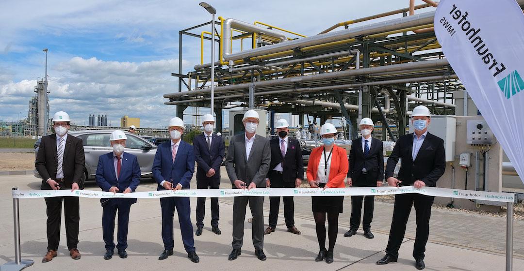 """Fraunhofer-Institute nehmen """"Hydrogen Lab Leuna"""" in Betrieb"""