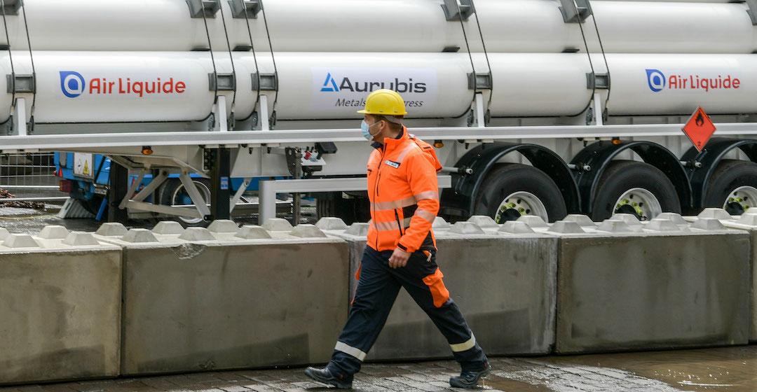 Aurubis testet Wasserstoff zur Produktion von Kupferanoden