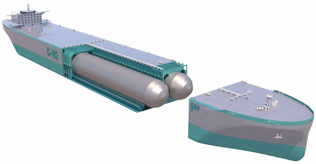 GEV entwickelt einen Wasserstofftanker