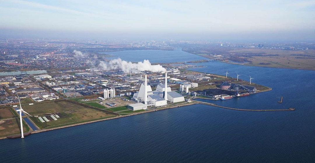 Ørsted plant Kohlenstoffabscheidung im Kraftwerk Avedøre zur Produktion von grünen E-Fuels