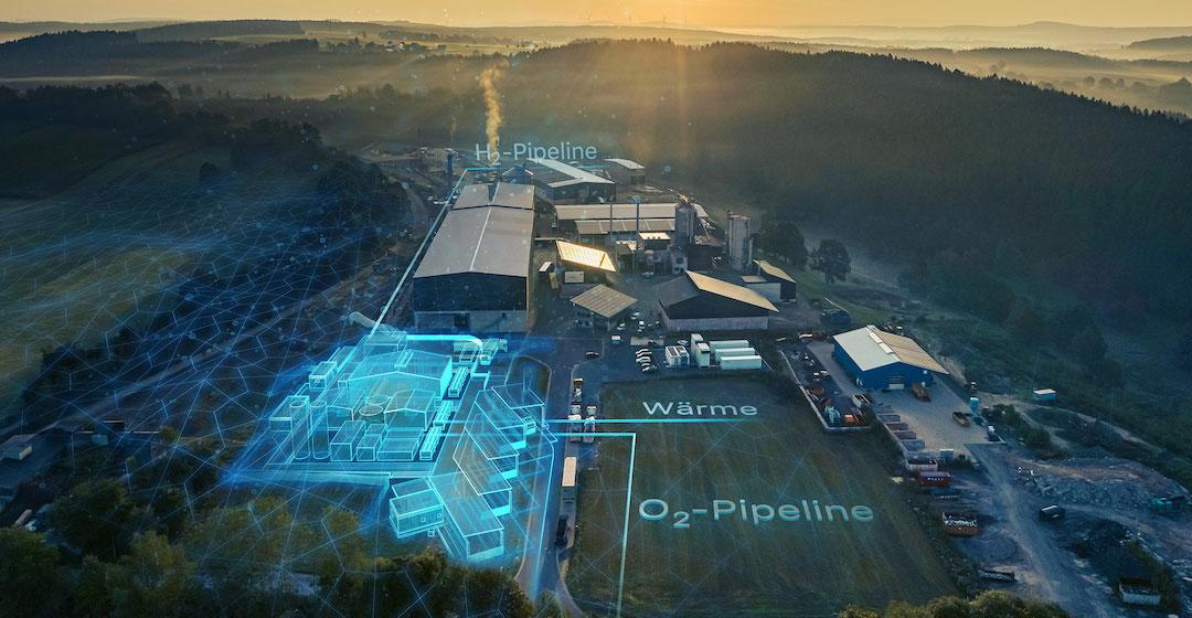 Siemens beginnt in Wunsiedel mit den Bauarbeiten für 8,75-MW-Elektrolyseur