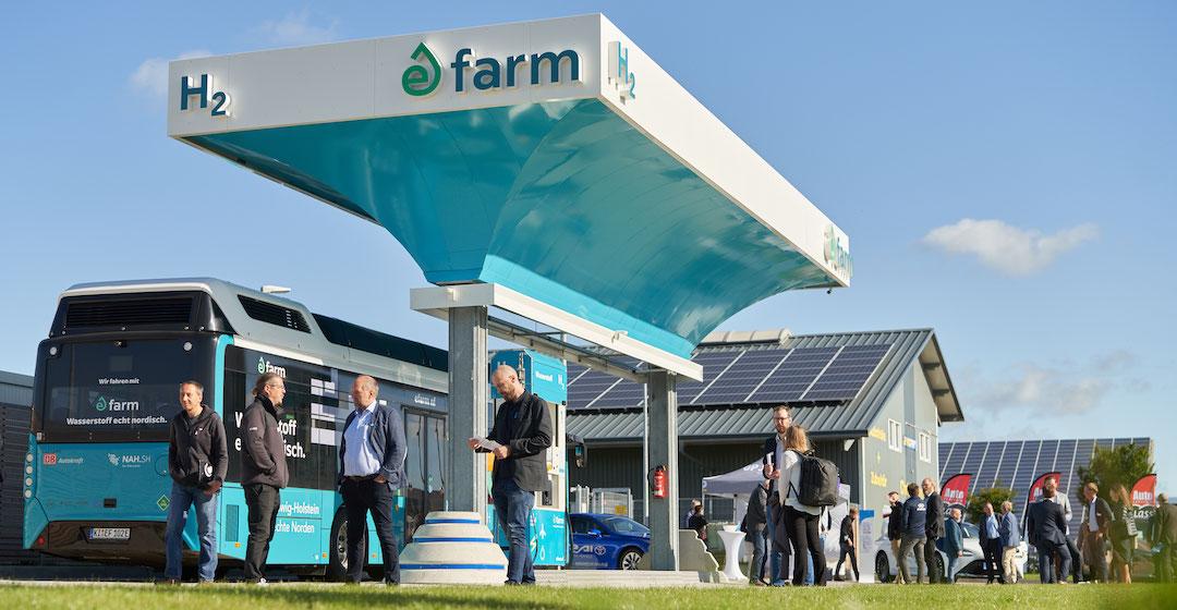 GP Joule nimmt öffentliche Tankstelle für grünen Wasserstoff in Betrieb