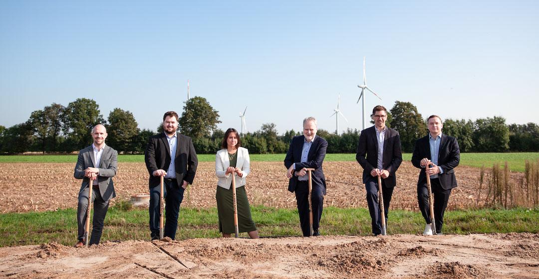 Enapter beginnt mit dem Bau einer Elektrolyseur-Fabrik in Nordrhein-Westfalen