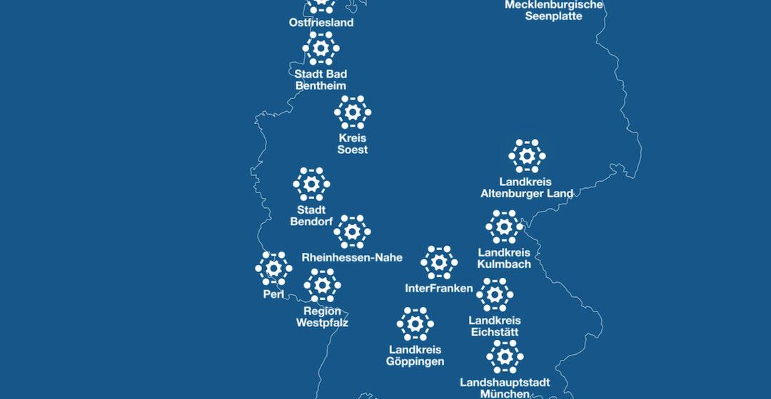 """""""HyLand"""": 30 weitere Wasserstoffregionen in Deutschland erhalten Fördermittel"""