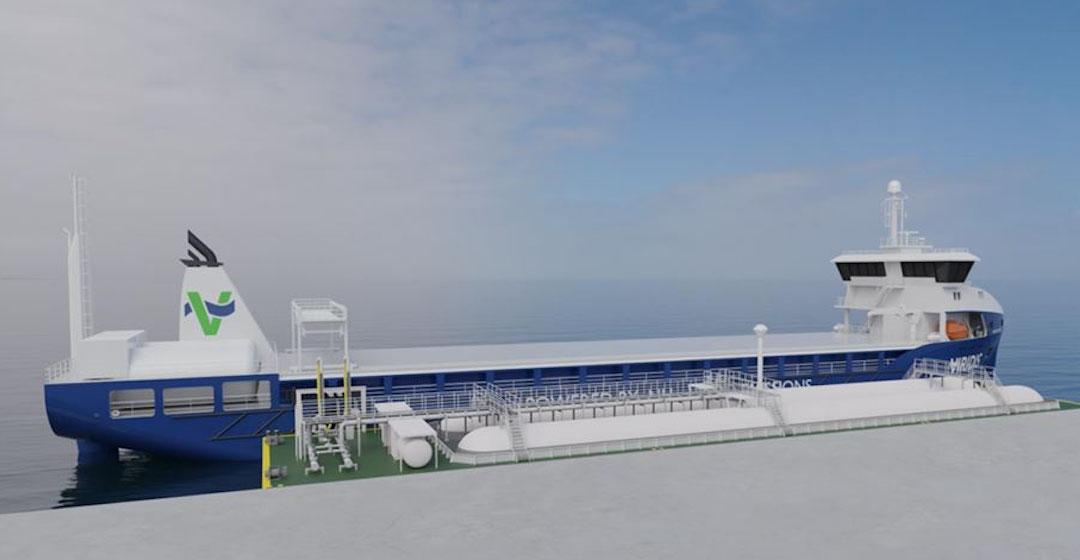 SINTEF und Industriekonsortium erforschen Schiffsantrieb mit grünem Ammoniak